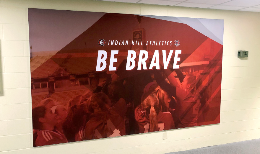 Indian-Hill-Athletics-Wall-Graphic